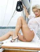 Anastasia on the boat
